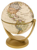 World Globe. Hand made clipping path included stock photo