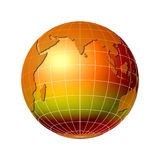 World globe 6 Stock Images