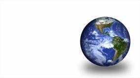 World globe. Isolated against white Stock Photography