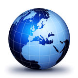 World globe Royalty Free Stock Photo