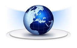 World globe creative design Royalty Free Stock Image