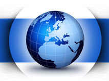 World globe design concept Stock Photos