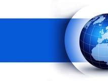 World globe design concept Stock Images