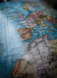 World globe Europe Stock Photo