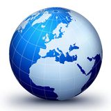 WorLd GloBe EvoLuTion Stock Image