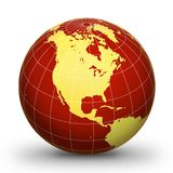 WorLd GloBe Geographic 2 Royalty Free Stock Photos