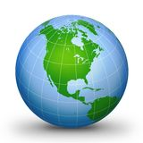 WorLd GloBe Geographic 2 Stock Photography