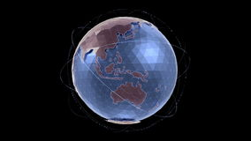 World Globe stock video footage