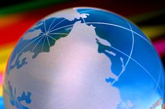World globe I Royalty Free Stock Photography