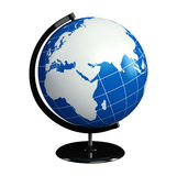World globe illustration Stock Images