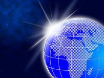 World Globe Indicates Global Globalization And Worldly Stock Photos