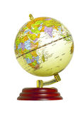 World globe isolated Royalty Free Stock Photography