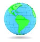 World globe. Isolated Royalty Free Stock Image