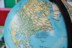 World globe map background Stock Images