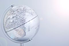 World Globe Map Royalty Free Stock Photos