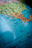 World globe Mexico Stock Photo