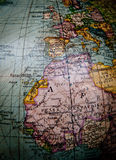World globe Northern Africa Royalty Free Stock Image
