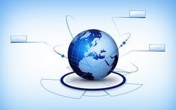 World globe technology Stock Photo