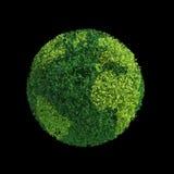 World globe tree Stock Photography