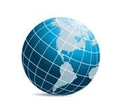 World globe vector Stock Photos