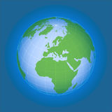 World globe (vector) Royalty Free Stock Images