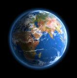 World globe.  Vector Stock Image