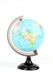 World globe on white Stock Photos