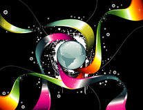 World glossy vector Royalty Free Stock Image