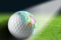 World Golf royalty free stock photography