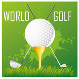 World golf Stock Photo
