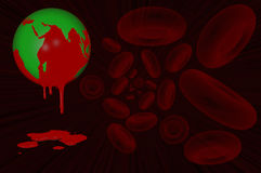 World Haemophilia day 17 April. 3D. World Haemophilia day 17 April Stock Photos