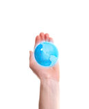 World in the hand Royalty Free Stock Photography