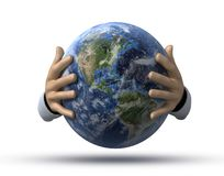 World in hands Royalty Free Stock Image