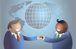 World handshake Royalty Free Stock Image