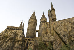 The world of Harry Potter. UNIVERSAL CITY, CA, USA December 26: the wrold of Harry Potter, Universal Studios in Hollywood, CA, USA December 26, 2016 stock photo