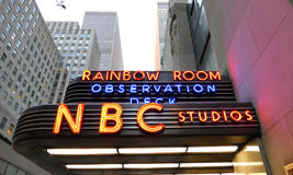 The world headquarters for NBC NEWS. New York, USA. 23rd August, 2016. The world headquarters for NBC News, the Saturday Night Live studios and the Rainbow Room stock photos
