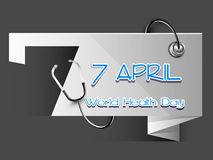 World health day, Royalty Free Stock Image