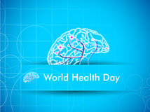 World health day,. World health day background Stock Image