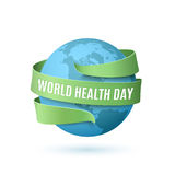 World Health Day background. Stock Images