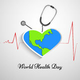 World Health Day background. Illustration of elements for World Health Day Vector Illustration