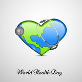 World Health Day background. Illustration of elements for World Health Day Stock Illustration