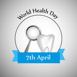 World Health Day background. Illustration of elements for World Health Day Royalty Free Illustration