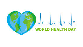 World Health Day banner Stock Photos