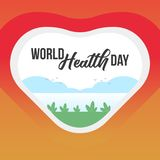 World Health Day Banner. Occasional Banner template vector illustration