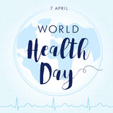 World Health Day cardio light Stock Image