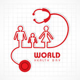 World Health Day Stock Photography