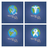 World health day Royalty Free Stock Photos