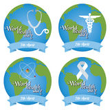 World health day Royalty Free Stock Photography
