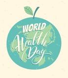 World health day vector illustration. Stock Photo