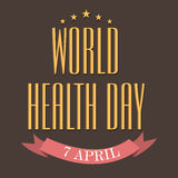 World Health Day Royalty Free Stock Images